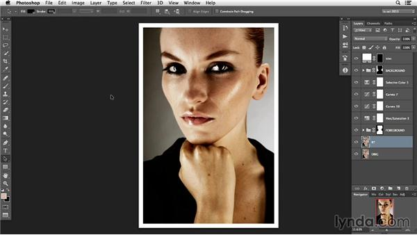 Understanding the image's use: Photoshop Retouching Techniques: Faces
