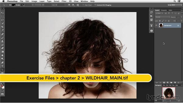 Understanding the image: Photoshop Retouching Techniques: Hair
