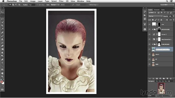 Additional techniques for soft and voluminous hair: Photoshop Retouching Techniques: Hair