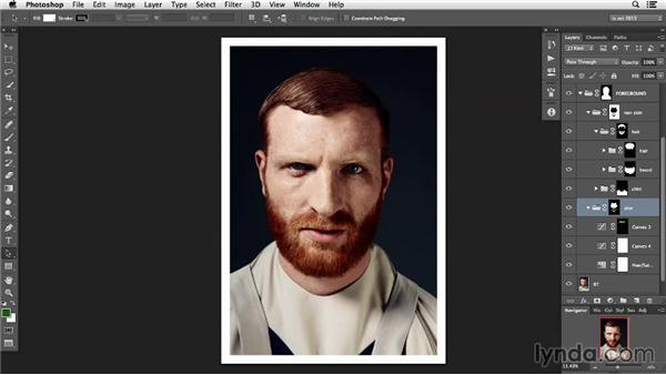 Solution: Change the hair color: Photoshop Retouching Techniques: Hair