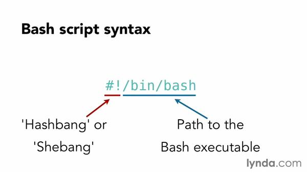 Understanding Bash script syntax: Up and Running with Bash Scripting