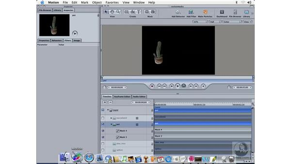 exporting stills with alpha: Learning Motion