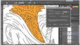Image for 272 Coloring line art using Live Paint Bucket