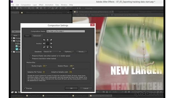 Finishing touches and adding motion blur: mocha 3 Essential Training