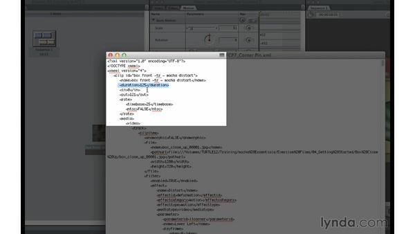 Exporting mocha data to Final Cut Pro 7: mocha 3 Essential Training