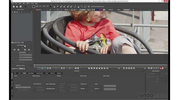 Setting up your layout for rotoscoping: mocha 3 Essential Training