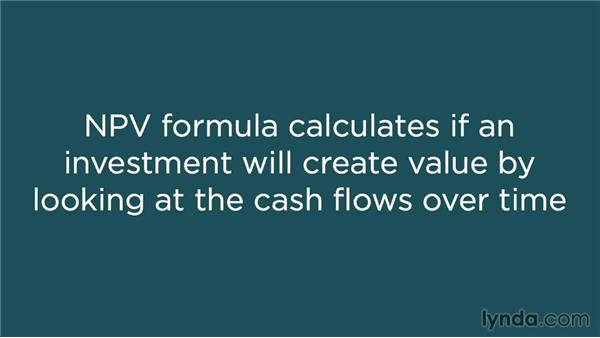 Understanding the NPV formula: Making Investment Decisions