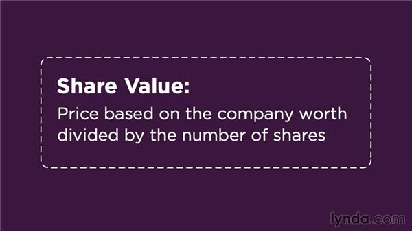 Example one: Invest in a company: Making Investment Decisions
