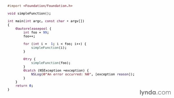 Why use Objective-C?: Objective-C Essential Training