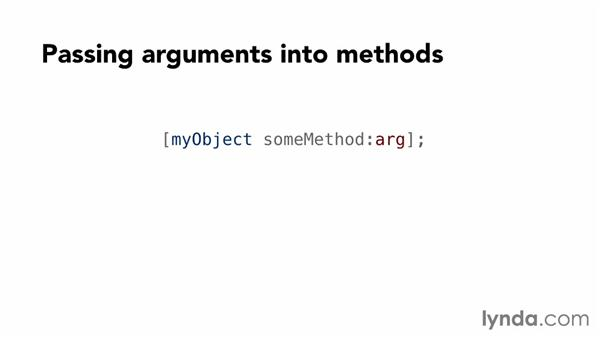 Messages and method calls: Objective-C Essential Training