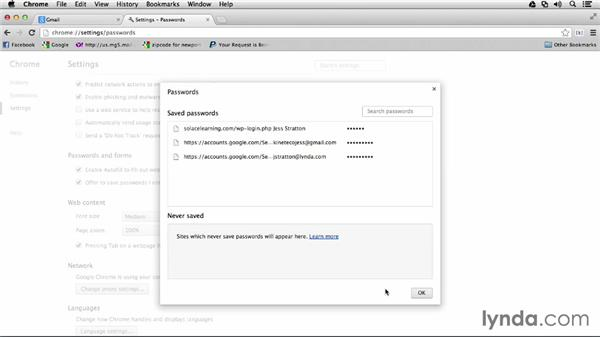 Resetting browser site passwords: Monday Productivity Pointers