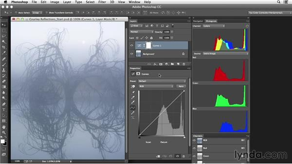 Tools and approach: Photoshop Color Correction: Creative Mood Adjustments