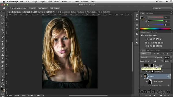 A selection makes everything better: Practical Photoshop Selections