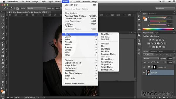 Using the Color Range command to select skin tones: Practical Photoshop Selections