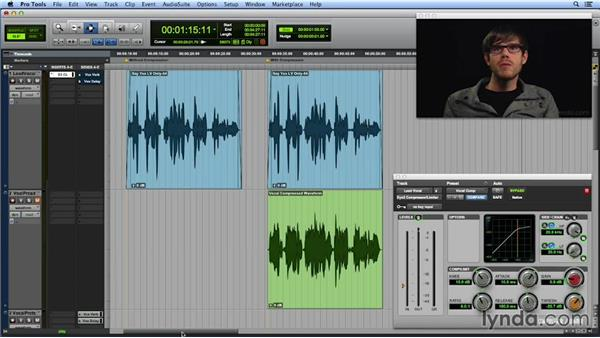 Using compression to even out a vocal performance: Get In the Mix with Pro Tools