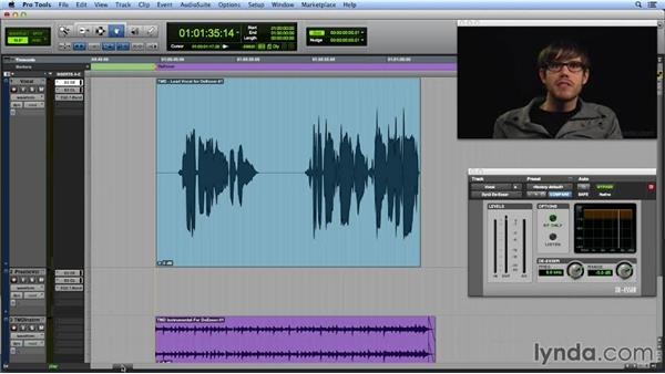 De-essing a vocal track: Get In the Mix with Pro Tools