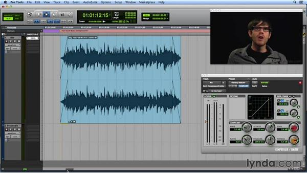 Using mix buss compression: Get In the Mix with Pro Tools