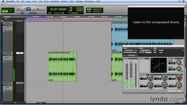 Working with parallel compression: Get In the Mix with Pro Tools