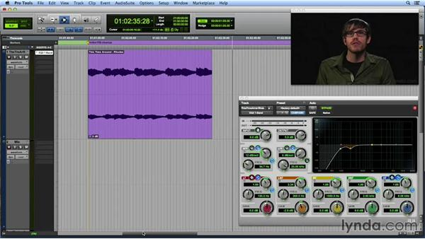 Using EQ to fix problems and place elements in the mix: Get In the Mix with Pro Tools