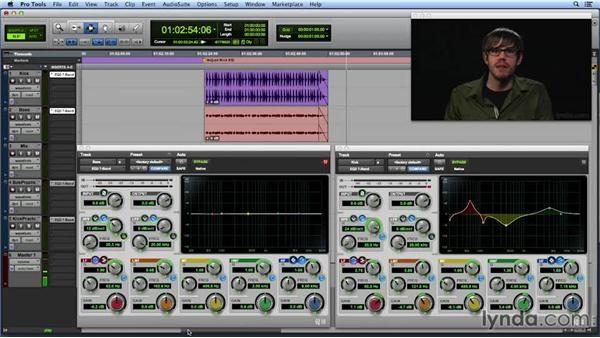 Creating complementary EQ curves: Get In the Mix with Pro Tools