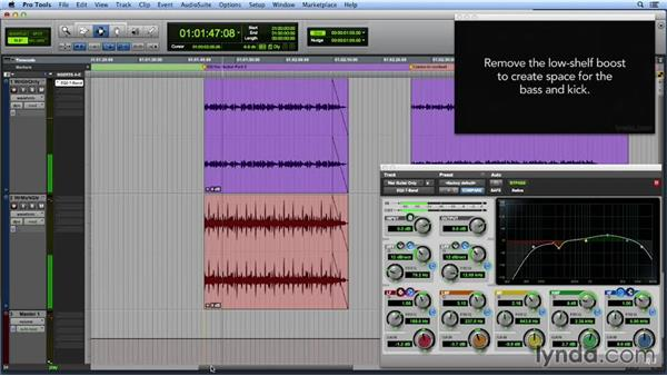Automating EQ: Get In the Mix with Pro Tools