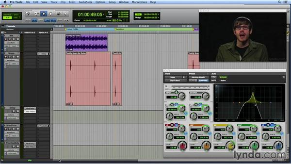 EQing FX returns: Get In the Mix with Pro Tools