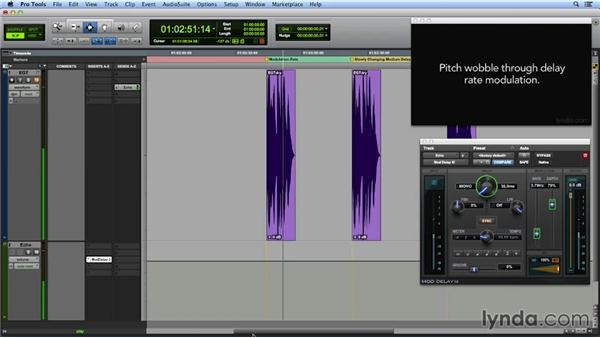 Modulation rate and depth: Get In the Mix with Pro Tools