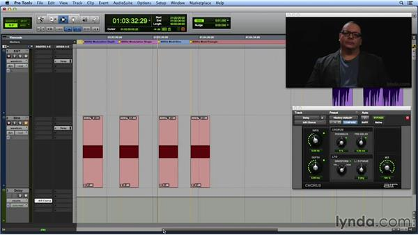 Modulation shape: Get In the Mix with Pro Tools