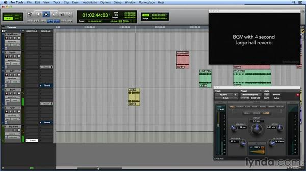 Changing the scene by changing the reverb: Get In the Mix with Pro Tools