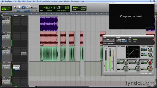 Gating reverb to emphasize any track in your production: Get In the Mix with Pro Tools