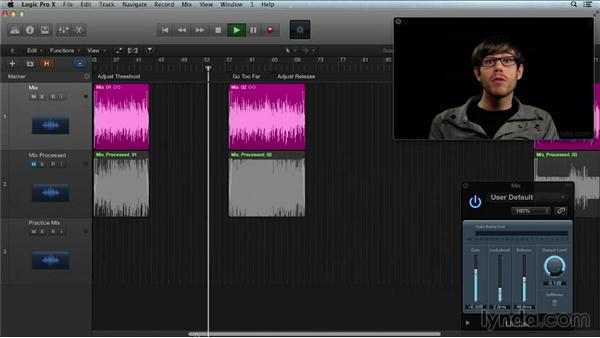 Maximizing mix loudness with brick-wall limiters: Get in the Mix with Logic Pro