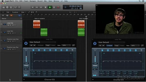 Frequency bracketing with filters: Get in the Mix with Logic Pro