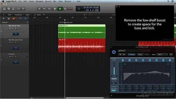Automating EQ: Get in the Mix with Logic Pro