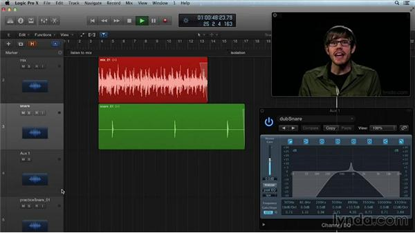 EQing FX returns: Get in the Mix with Logic Pro