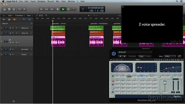 Spreaders and thickeners: Get in the Mix with Logic Pro