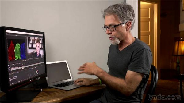 Color grading the final piece: Creative DSLR Video Techniques