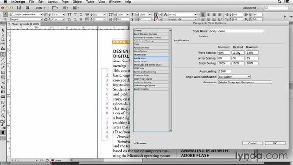 119 Making alternative body text styles for fast typesetting: InDesign Secrets