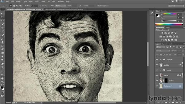 Getting around an image: Introducing Photoshop: Design