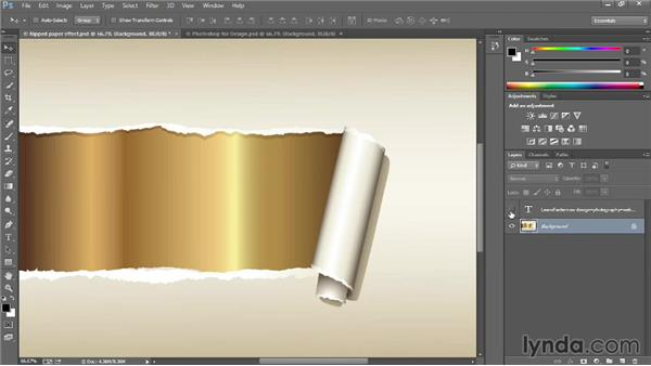 Using the marquee tools: Introducing Photoshop: Design