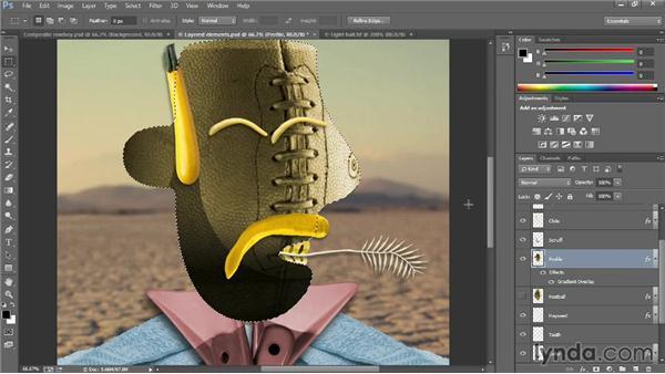 Three ways to make a layer: Introducing Photoshop: Design