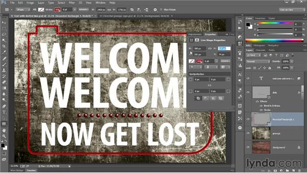 Drawing vector-based shapes: Introducing Photoshop: Design
