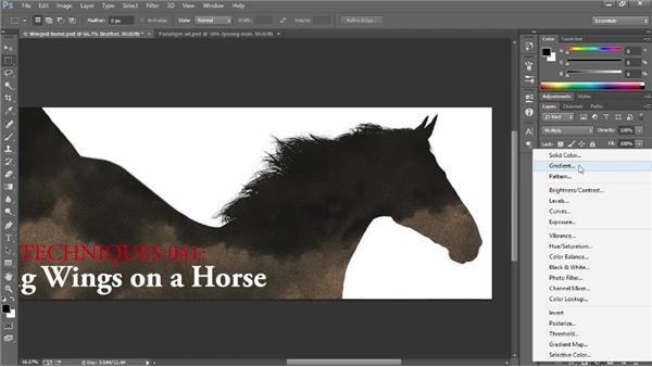 Creating clipping masks: Introducing Photoshop: Design