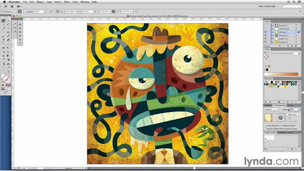 Texturizing your illustration: Adding authentic distress: Drawing Vector Graphics: Color and Detail