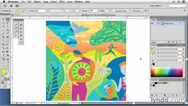 Inspiring illustrators: Lisa Ballard: Drawing Vector Graphics: Color and Detail
