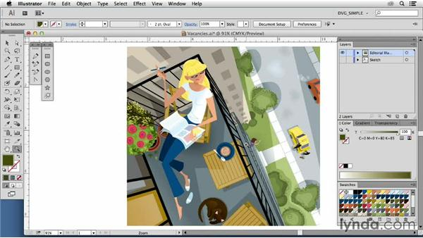 Inspiring illustrators: Luc Latulippe: Drawing Vector Graphics: Color and Detail