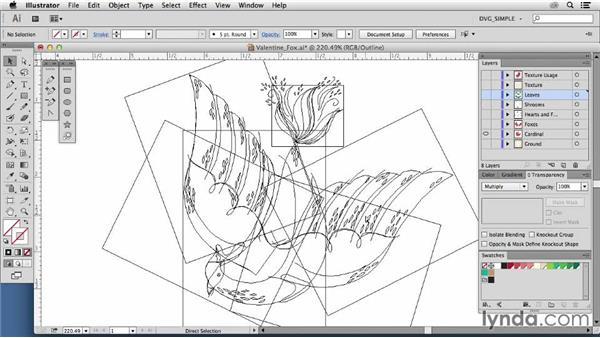 Inspiring illustrators: Andi Butler: Drawing Vector Graphics: Color and Detail