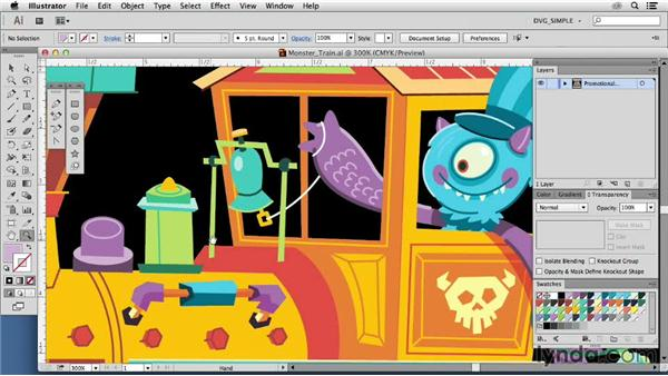 Inspiring illustrators: Joey Ellis: Drawing Vector Graphics: Color and Detail