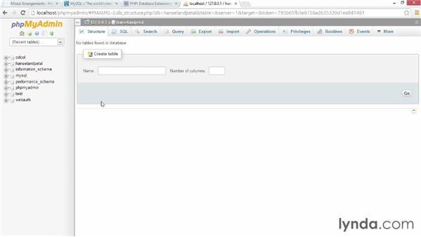 Loading data into MySQL: PHP for Web Designers
