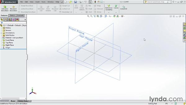 Accessing and customizing the Ribbon: SOLIDWORKS 2014 Essential Training