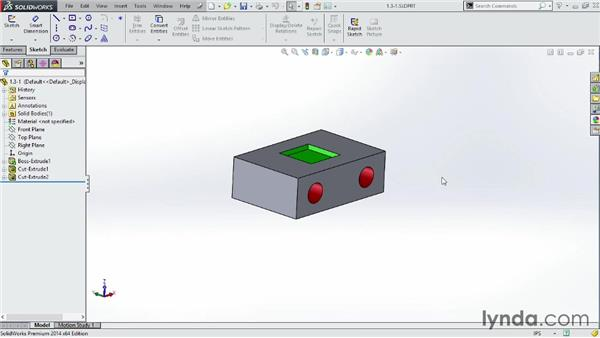 Touring the shortcut bar and identifying essential keys: SOLIDWORKS 2014 Essential Training
